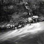 Cars Along the Eagle River