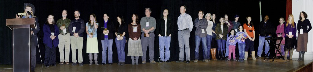he awards at the 2012 Colorado Environmental Film Festival