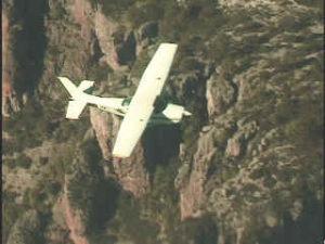 Flying into Guachochi
